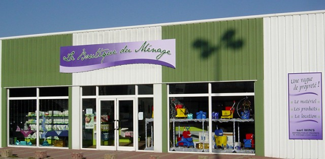 La boutique du ménage - SARL WIN'S - Une Vague de Propreté ! Le matériel, les produits, la location